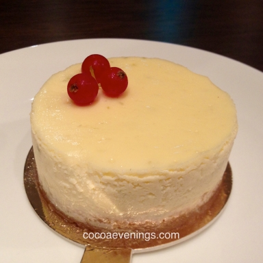cheese cake from artisan boulangerie co.