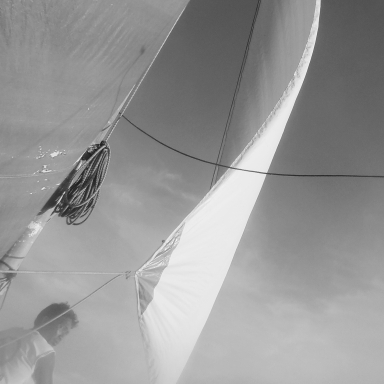 sail on the sailboat watch boracay